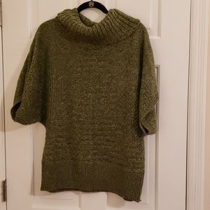 Green sweater top from New Directions XL